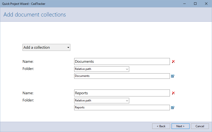 Add document collections
